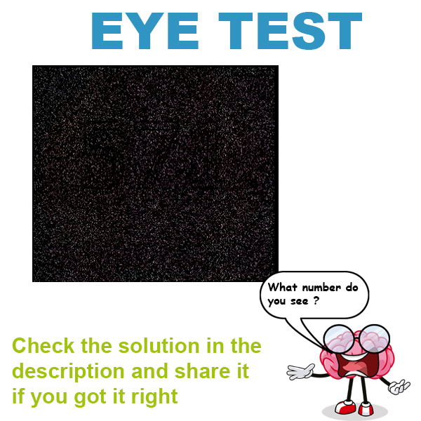 how to read eye test results