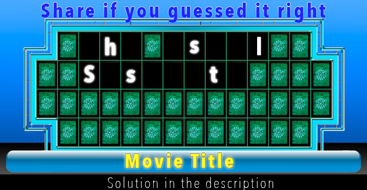 Wheel of fortune - Movie Title
