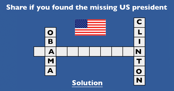 Find the missing  US President