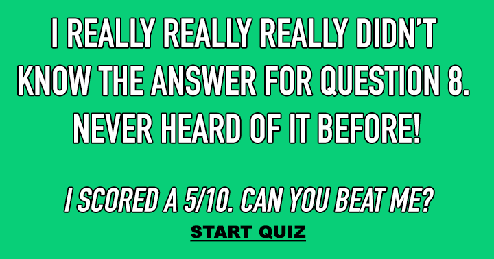 Do you know the answer to questions 8?