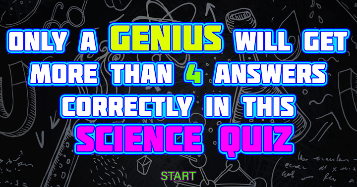 Zondag 10:00: This Science quiz is only real smart people!