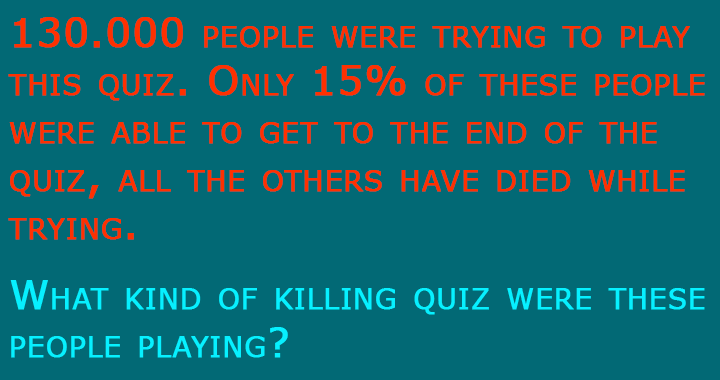 This quiz contains 15 questions
