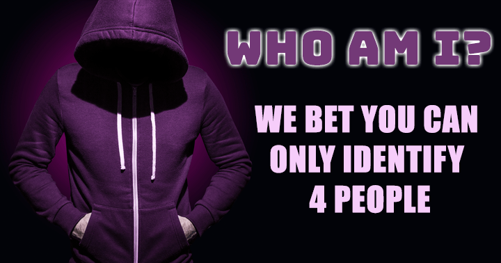 Try to identify these people!