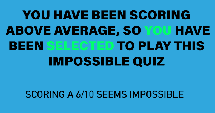 Can you score a 6+ ?