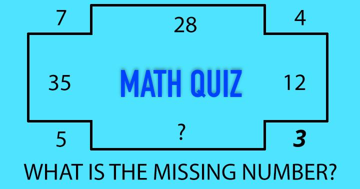 Official Math Quiz