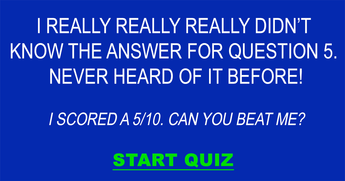 Do you know the answer to question 5?