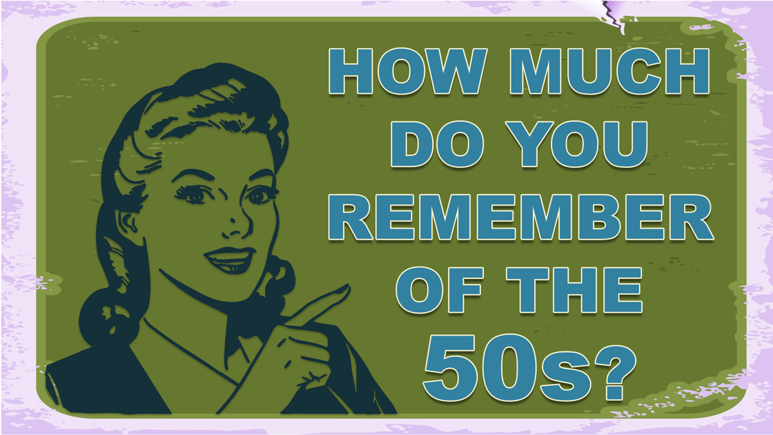 Quiz about the 1950s