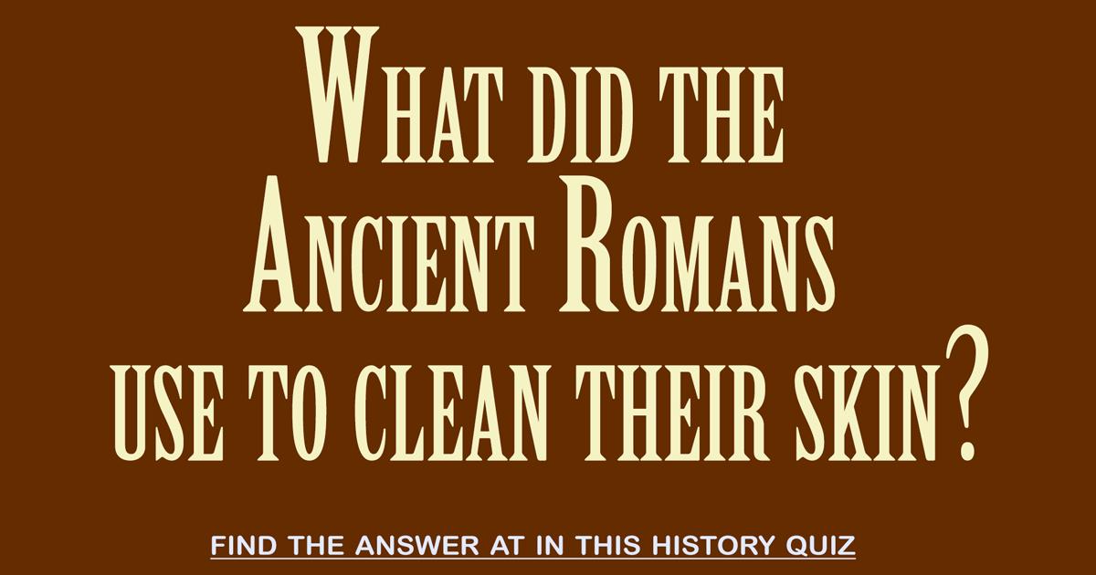 Difficult History Quiz