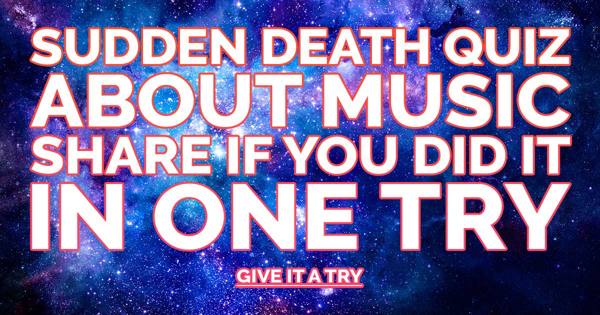 Music Sudden Death