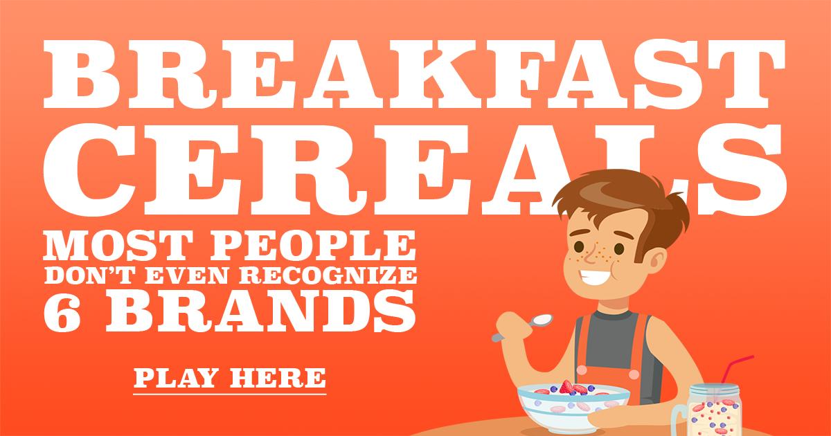 Breakfast Cereal Quiz