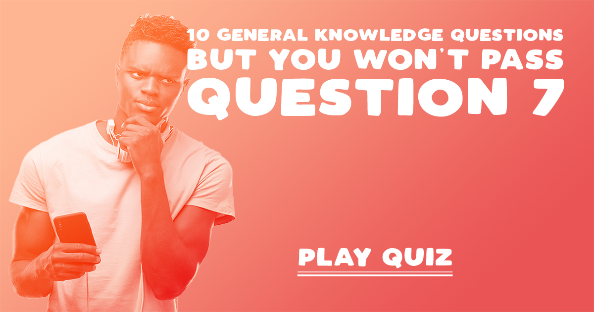 You won't pass question 7