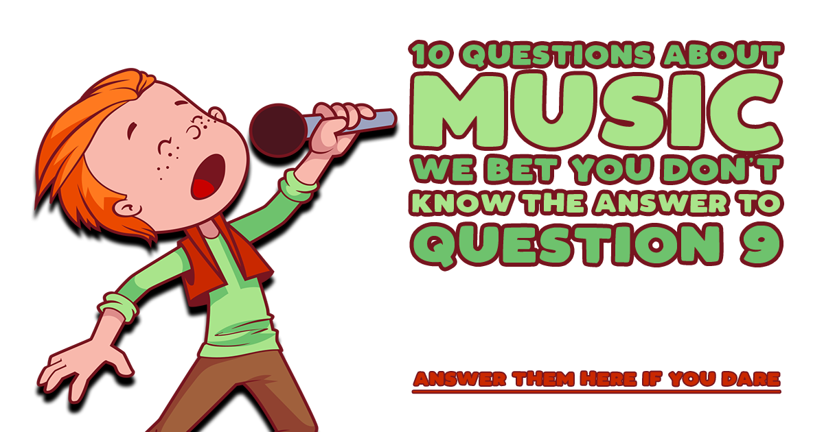10 Questions About Music