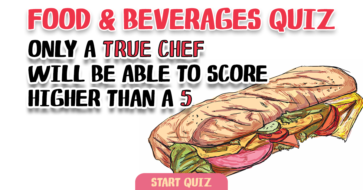 Challenging Food Quiz