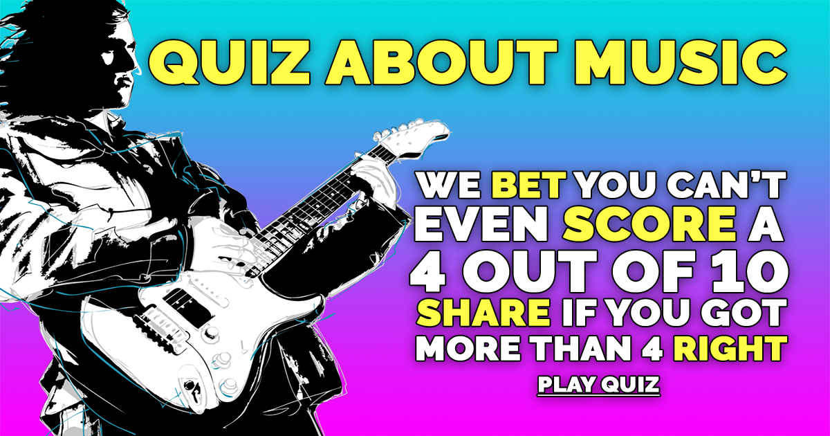 Hard Quiz About Music