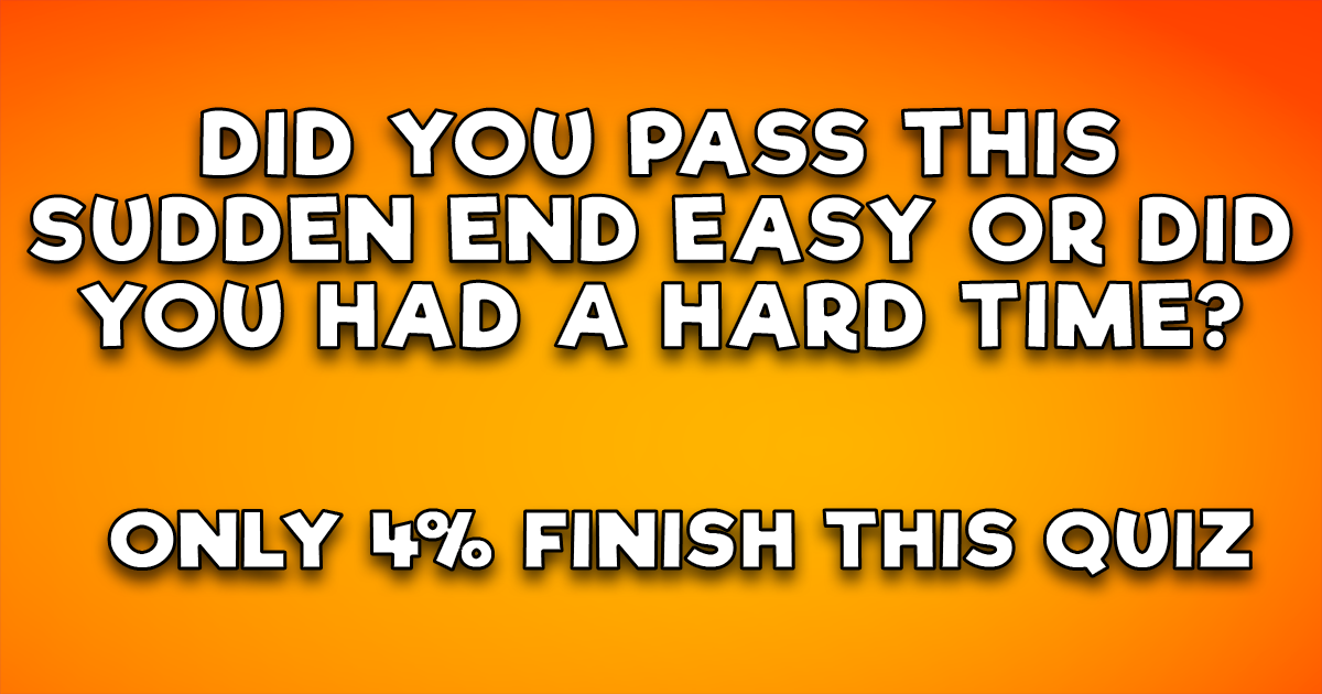 We bet you belong to the 96%!