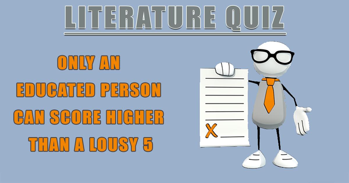 Quiz About Literature