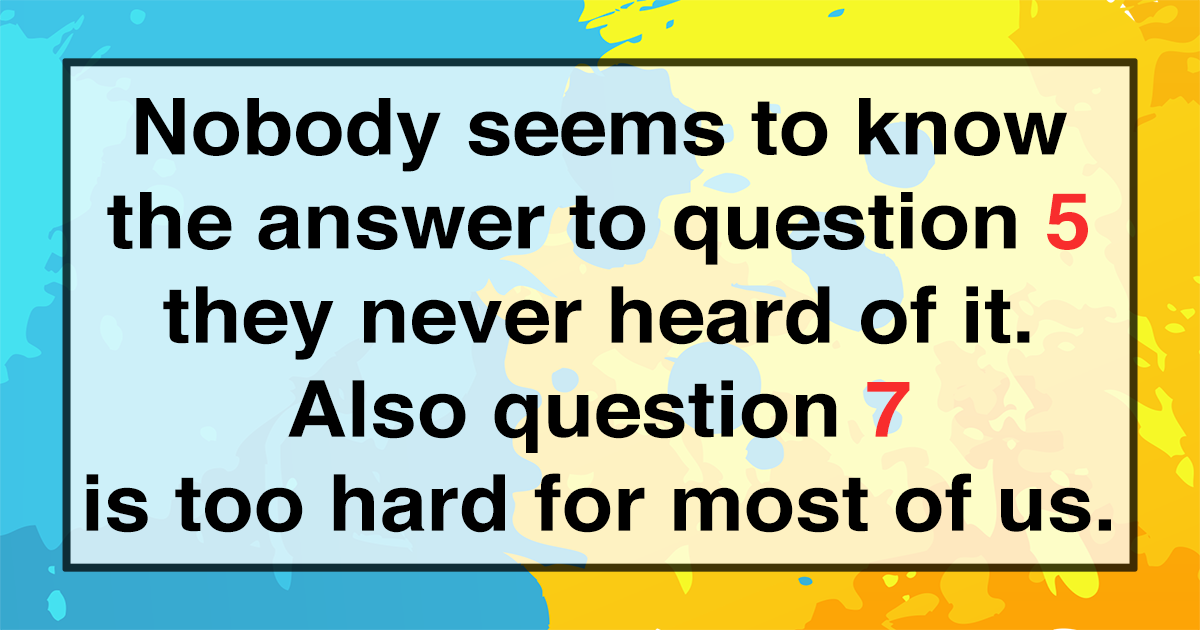 Will you be in the top 10% of all quizzers?