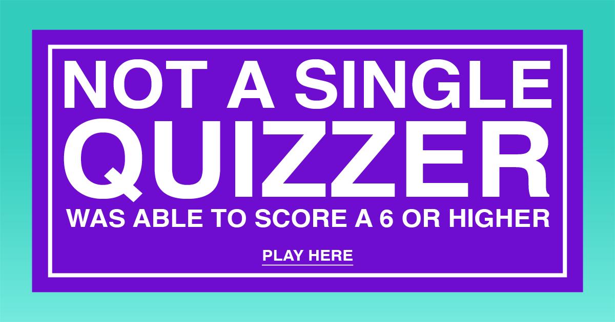 Very Hard Quiz