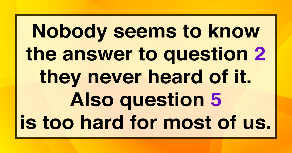 Share if you know the right answers