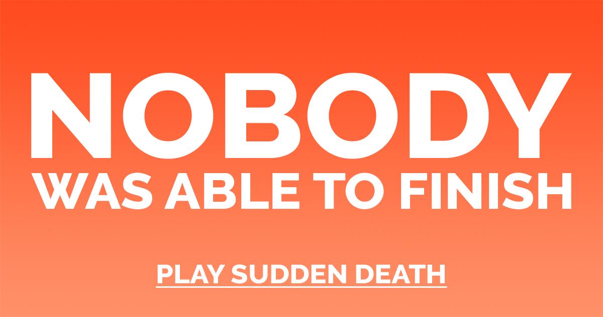 High IQ Sudden Death