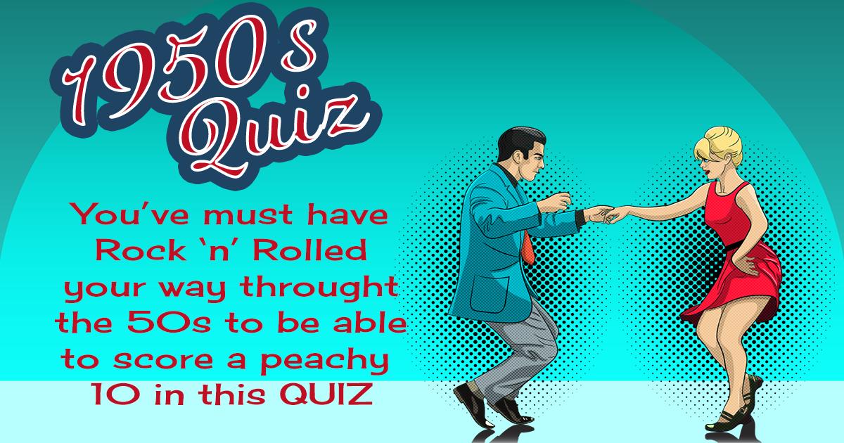Very Hard 1950s Quiz