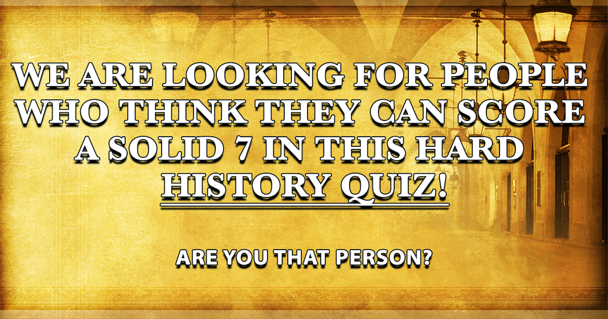 Are you the one we're looking for? Please tell us!