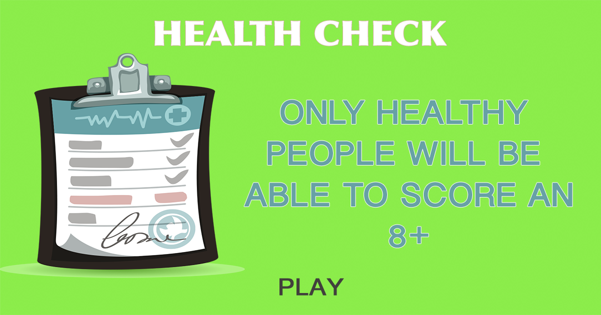 Health Check Quiz