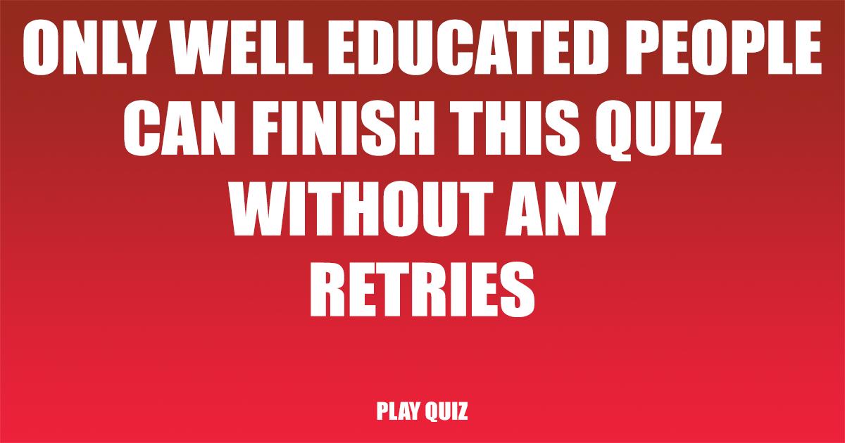 Sudden End Knowledge Quiz