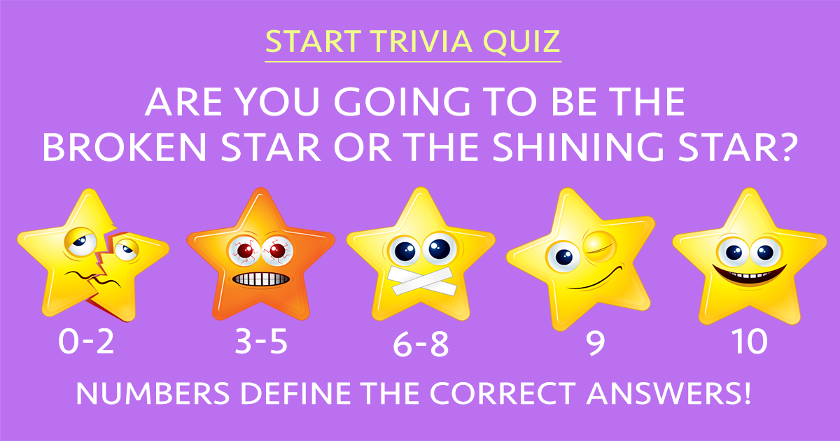 Prove if you're a shining star!