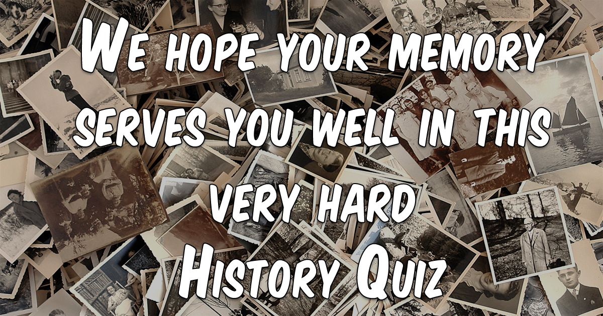 How is your memory?
