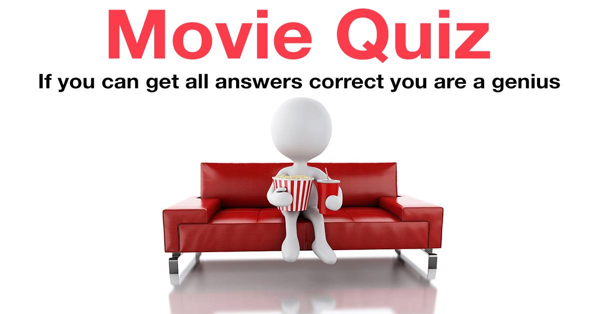 Challenging Movie Quiz