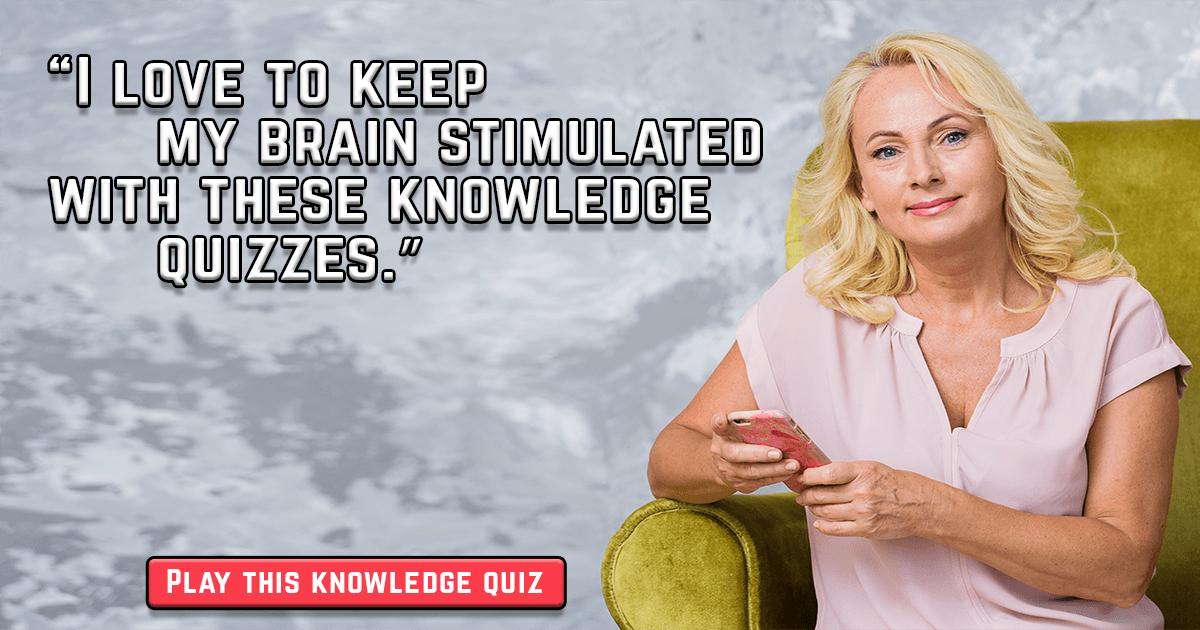 Brain Exercising Quiz