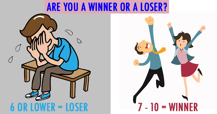 essayare you a winner or a loser But how do you win what is the difference between a winner and a loser- not  the given outcome, but what are the differences in character and.