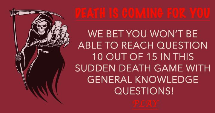 Sudden Death Game