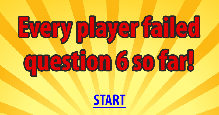 Are you able to beat question 6?