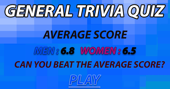 Can you beat the average score?