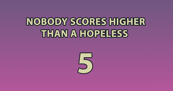 Try Scoring Higher Than A 5+