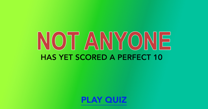 Various subjects Quiz