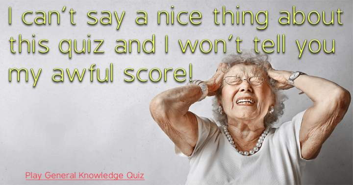 Play General Knowledge Quiz