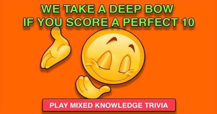 Mixed Knowledge Trivia