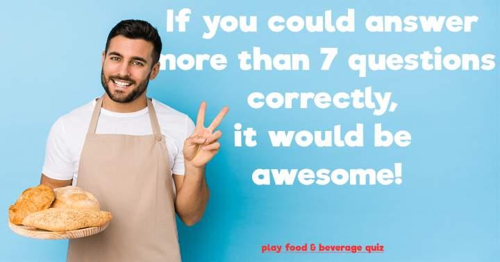 Impossible Food Quiz