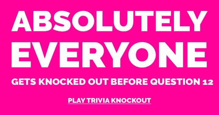 Trivia Knockout