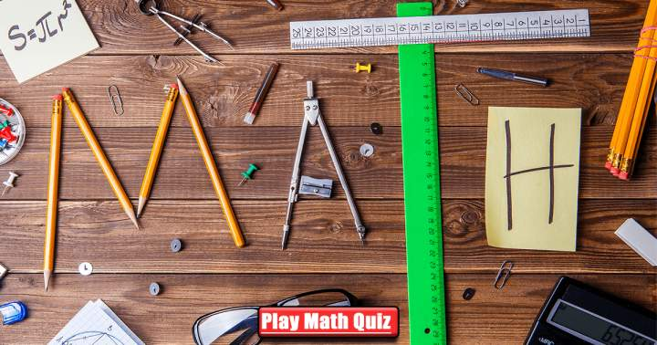 Mathematics Quiz