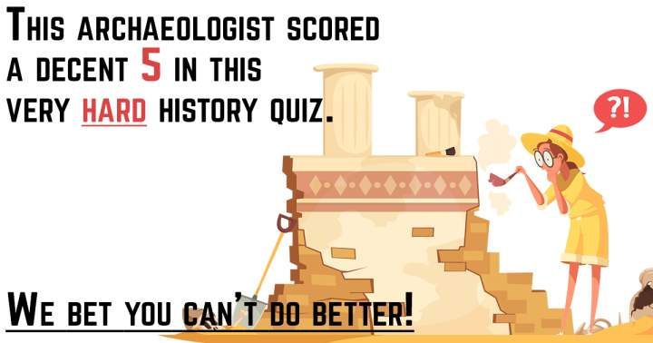 Impossible HARD History Quiz